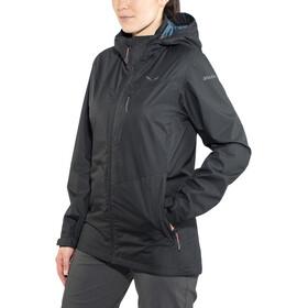 SALEWA Fanes Clastic PTX 2L Jacket Damen black out